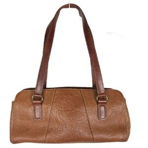 Fossil Vintage Leather Embossed Bags 1954